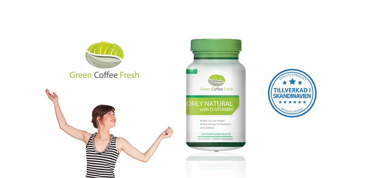 Gröna Kaffebönor - gratis provpaket + activity tracker som gåva