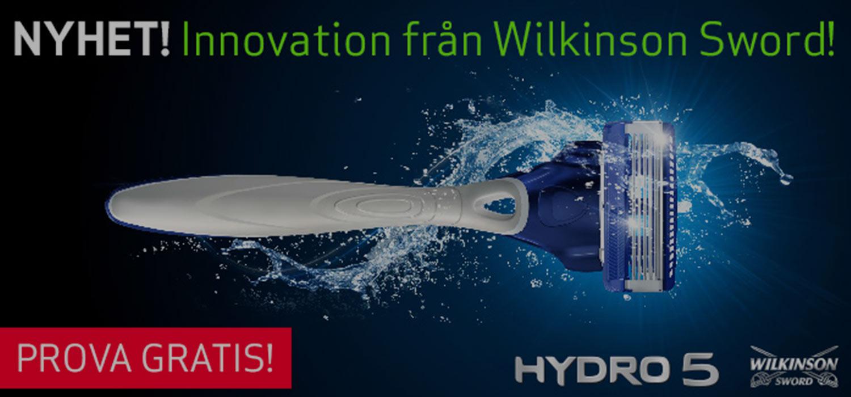 Hydro-5 från Wilkinson Sword - Gratis provpaket