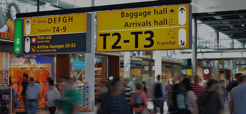 Schiphol Flygplats Flygresor