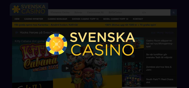 Svenska Casino Toppen Freespins Bonusar